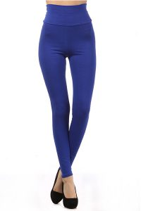 High Waisted Cotton Leggings