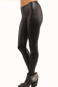 Images of Matte Leather Leggings