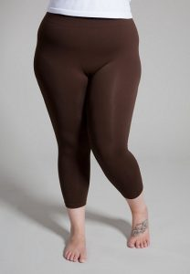 Images of Plus Size Brown Leggings