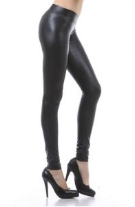 Matte Leather Leggings Images