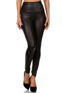 Matte Leather Leggings Pictures