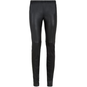 Matte Leather Leggings
