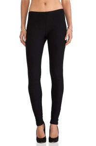Pictures of Black Fleece Lined Leggings