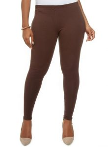 Plus Size Brown Leggings Pictures