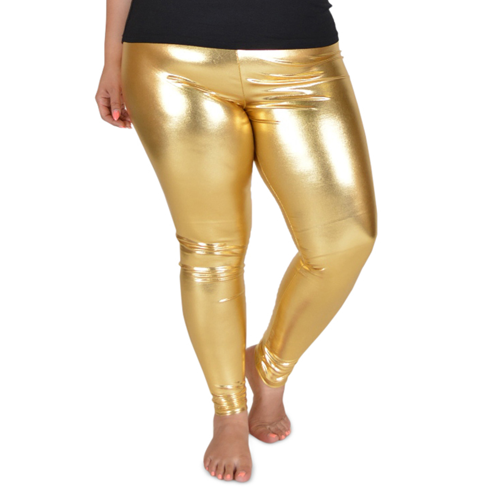 9003b955b144d Plus Size Gold Leggings Pictures Plus Size Gold Leggings