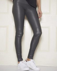 Leather Leggings Stretch