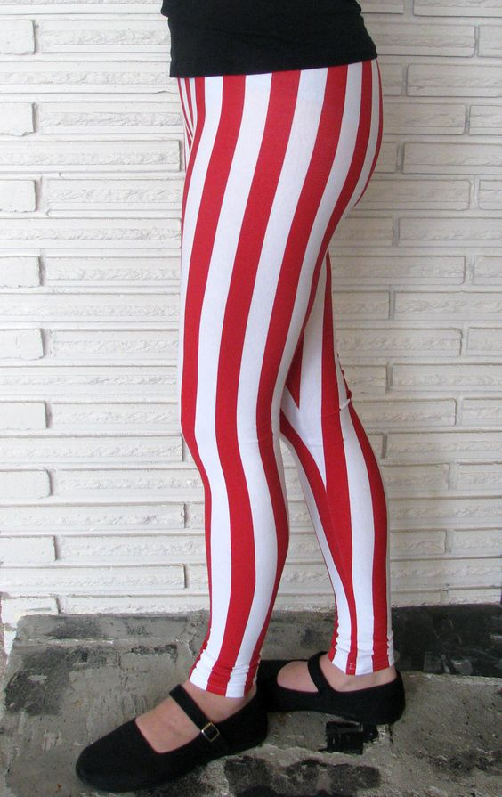 Plus Size Striped Leggings – I Need Leggings