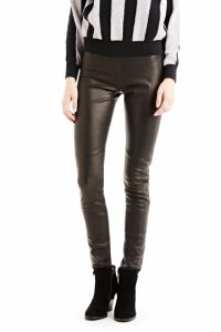 Stretch Leather Leggings Pictures